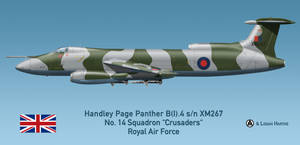RAF Handley Page Panther B(I).4 - Falklands 1982