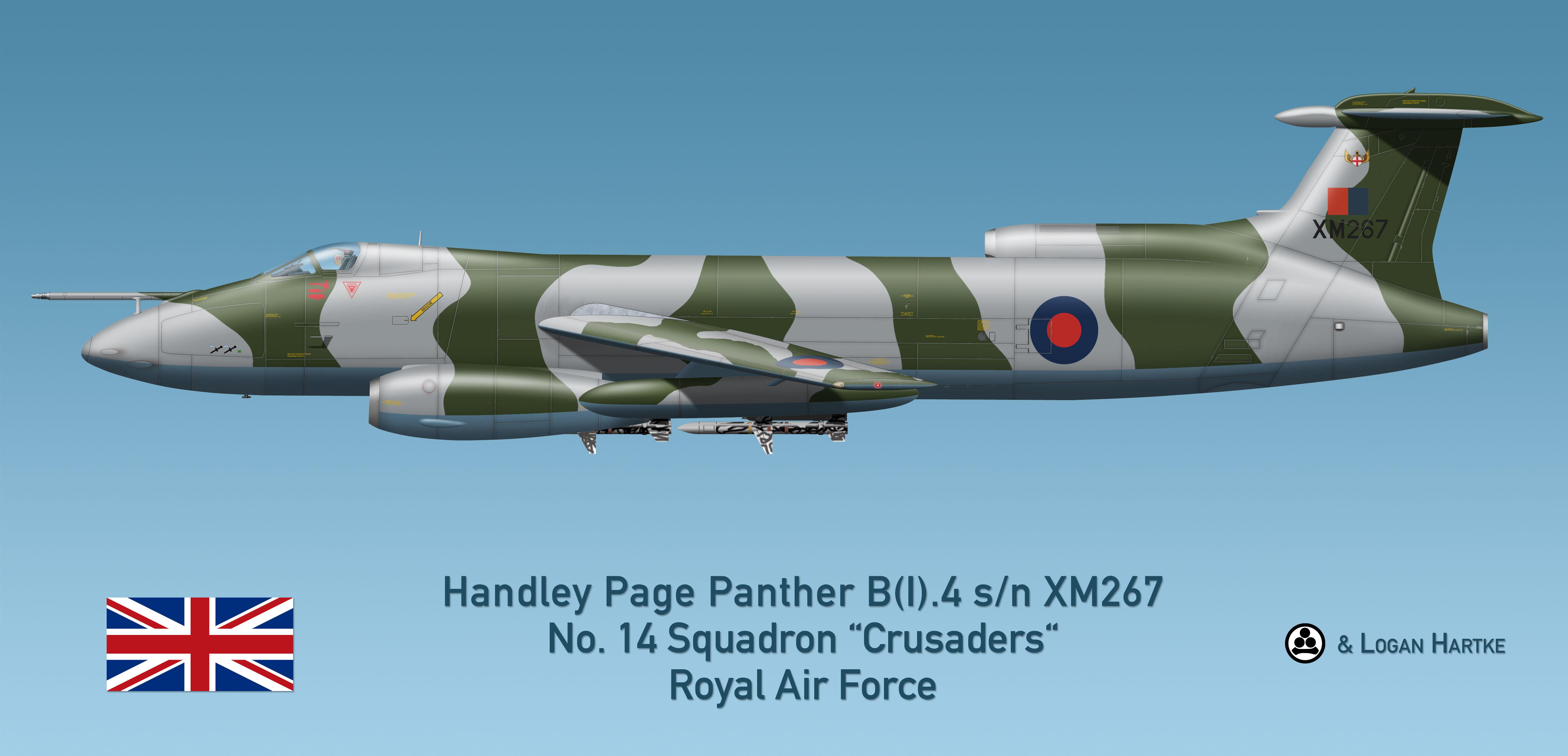 RAF Handley Page Panther B(I).4 - Falklands 1982