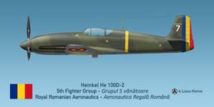 Romanian Heinkel He 100D-2