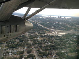 Jacksonville, Florida from a 1929 Ford Trimotor