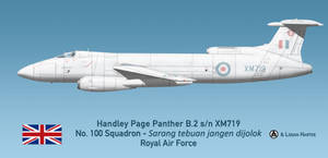 RAF Handley Page Panther B.2 - 100 Squadron