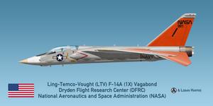 Vought V-507 F-14 (1X) Vagabond - NASA Dryden