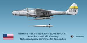 Northrop F-15A Reporter - NACA - Ames Laboratory