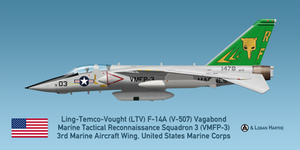V-507 F-14A TARPS - USMC VMFP-3 Eyes of the Corps by comradeloganov