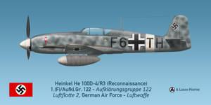 Photo-reconnaissance Heinkel He 100D-4/F3, Sicily