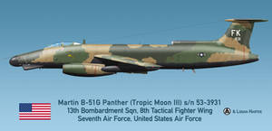 USAF Martin B-51G Night Intruder - Tropic Moon III