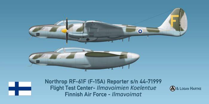 Finnish RF-61F Reporter - Esko 'Roope' Halme