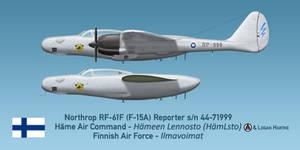 Finnish RF-61F Reporter - Hameen Lsto by comradeloganov