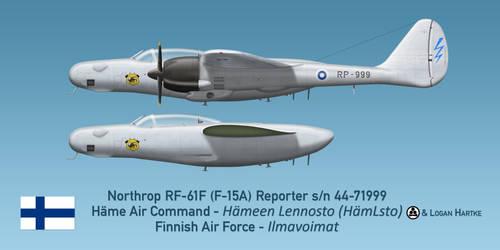 Finnish RF-61F Reporter - Hameen Lsto