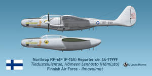Finnish RF-61F Reporter - Retirement