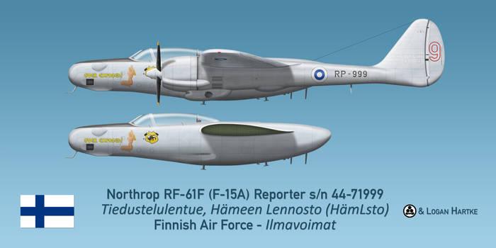 Finnish RF-61F Reporter - Retirement