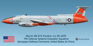 USAF Martin EB-51E Panther - DSES Bicentennial
