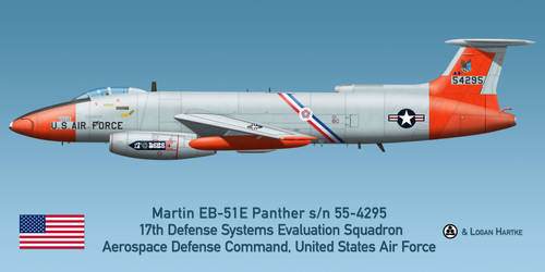 USAF Martin EB-51E Panther - DSES Bicentennial by comradeloganov