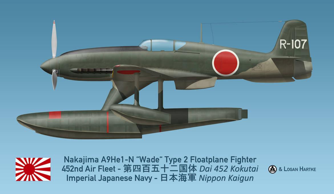 Nakajima A9He1-N Wade Floatplane - Aleutians by comradeloganov