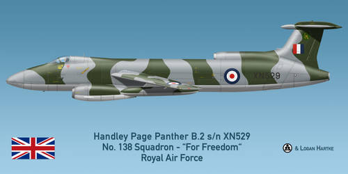 RAF Handley Page Panther B.2 - 138 Squadron by comradeloganov