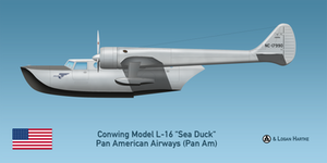 Pan Am Conwing L-16 Sea Duck