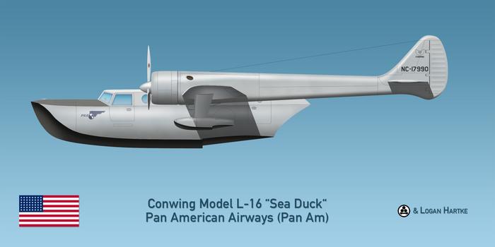 Pan Am Conwing L-16 Sea Duck