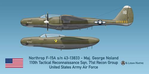 USAAF F-15A Reporter - We Three - Maj. Noland