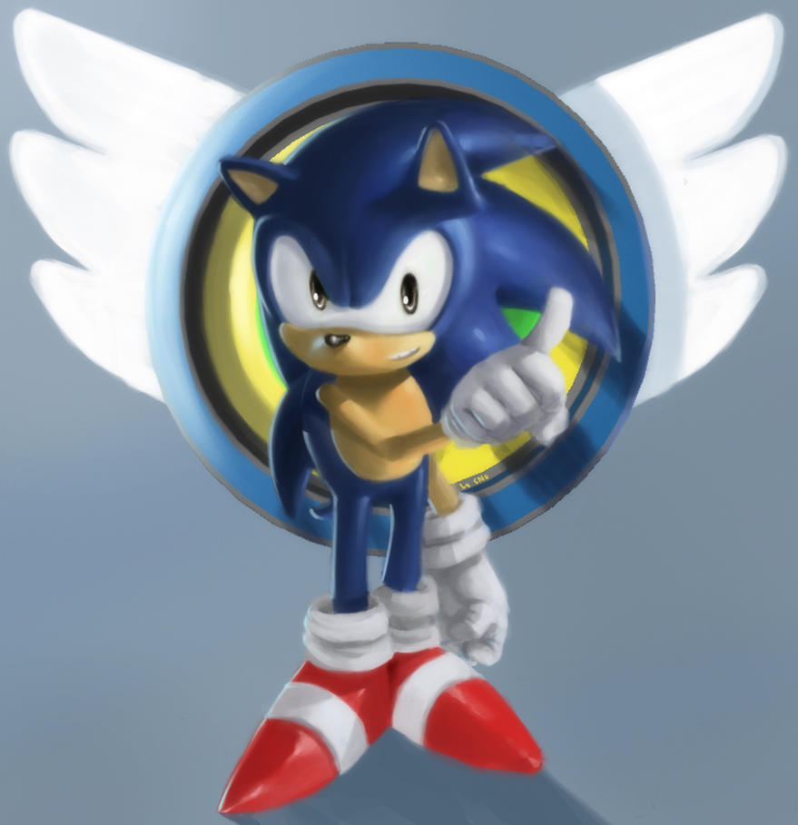 Old School Sonic by SNGPSo