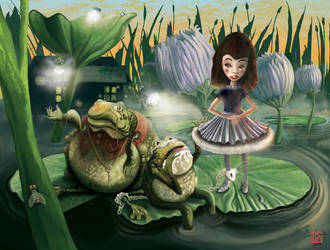 Toad and Son by TheSolitaryReaper