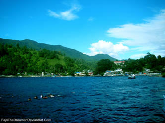 Lake Toba In Indonesia by FajriTheDreamer