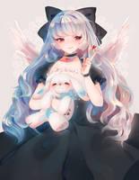 T | Miyoko by anitori