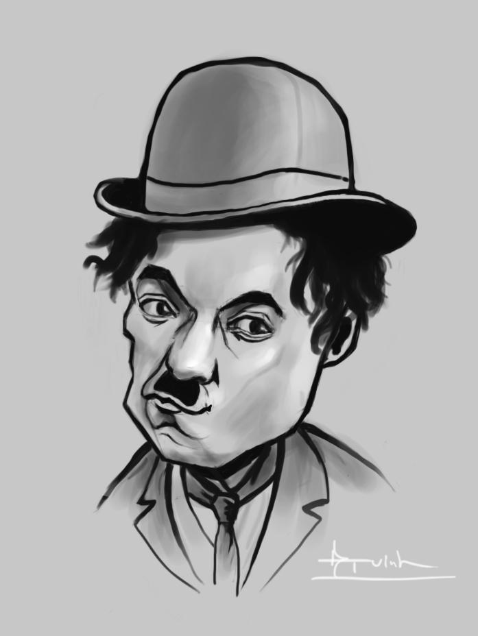 Charlie_Chaplin by 2lua