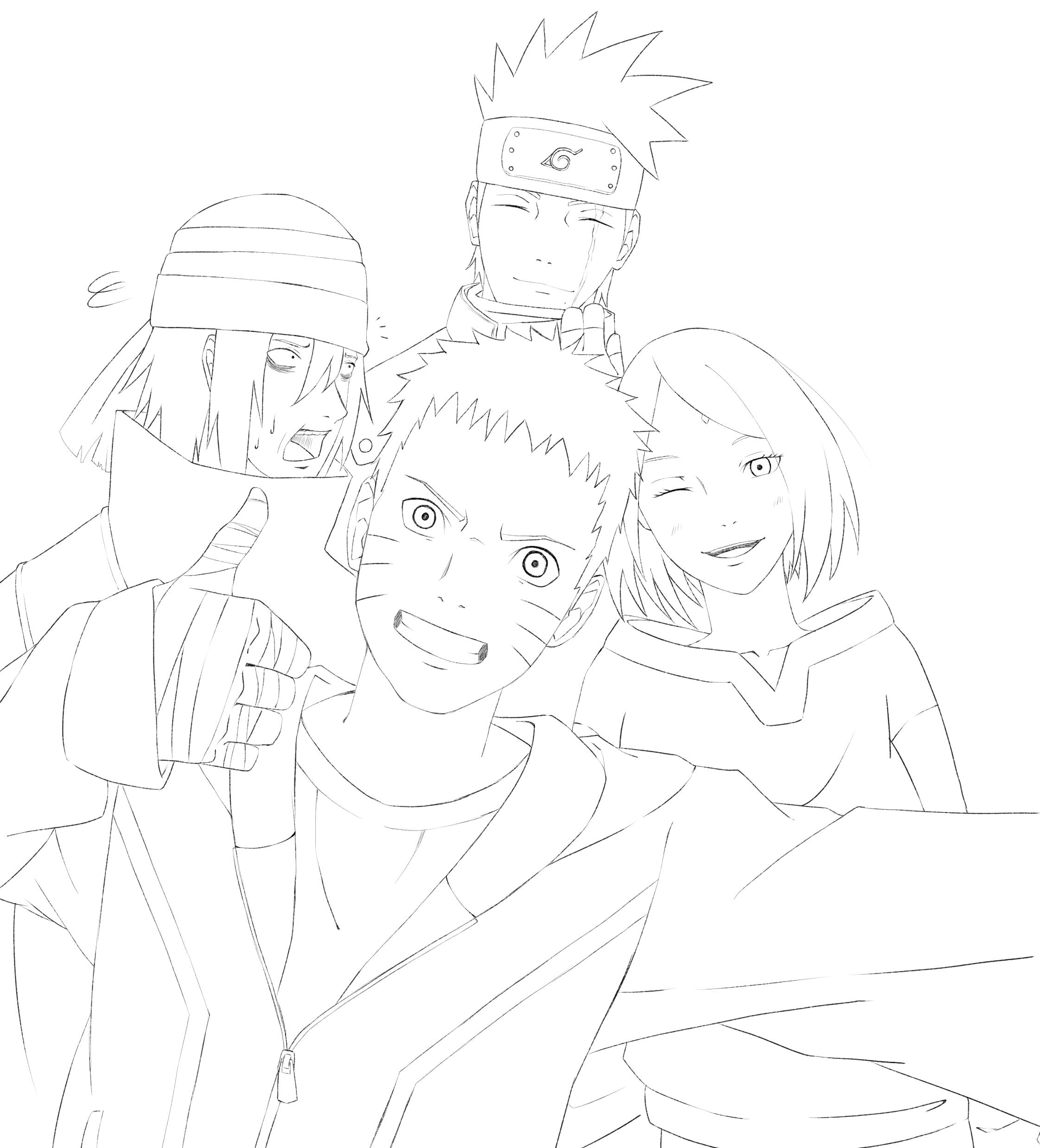Naruto by Gurvana