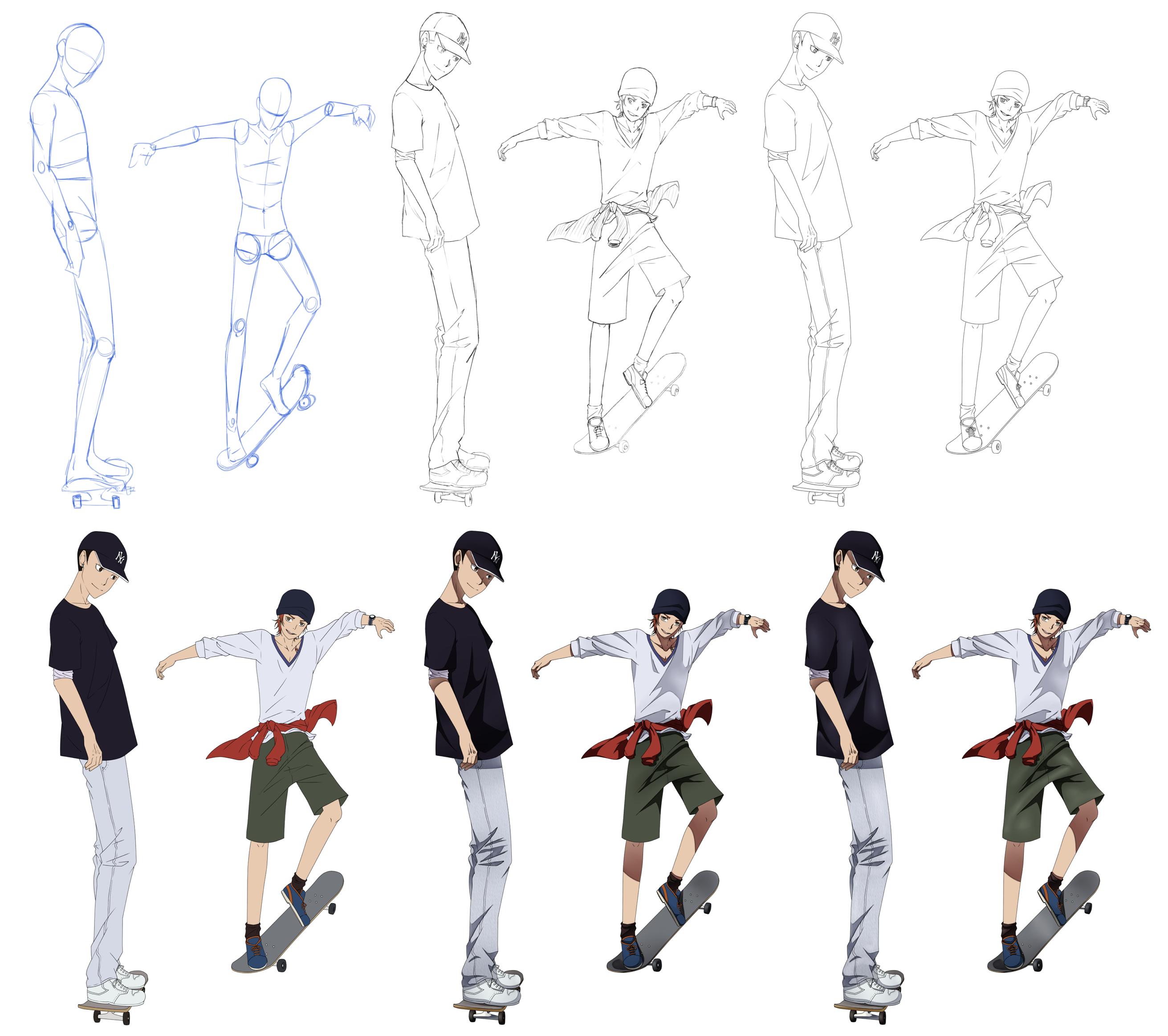 Skate Steps by Gurvana