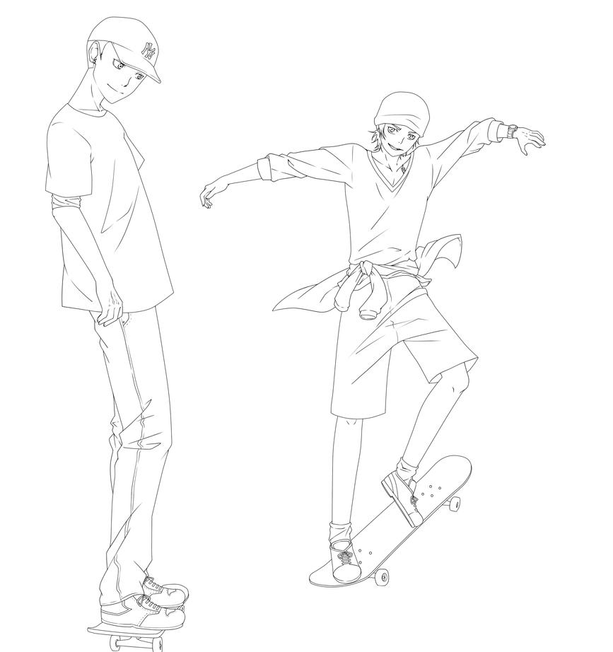 Skate Line by Gurvana