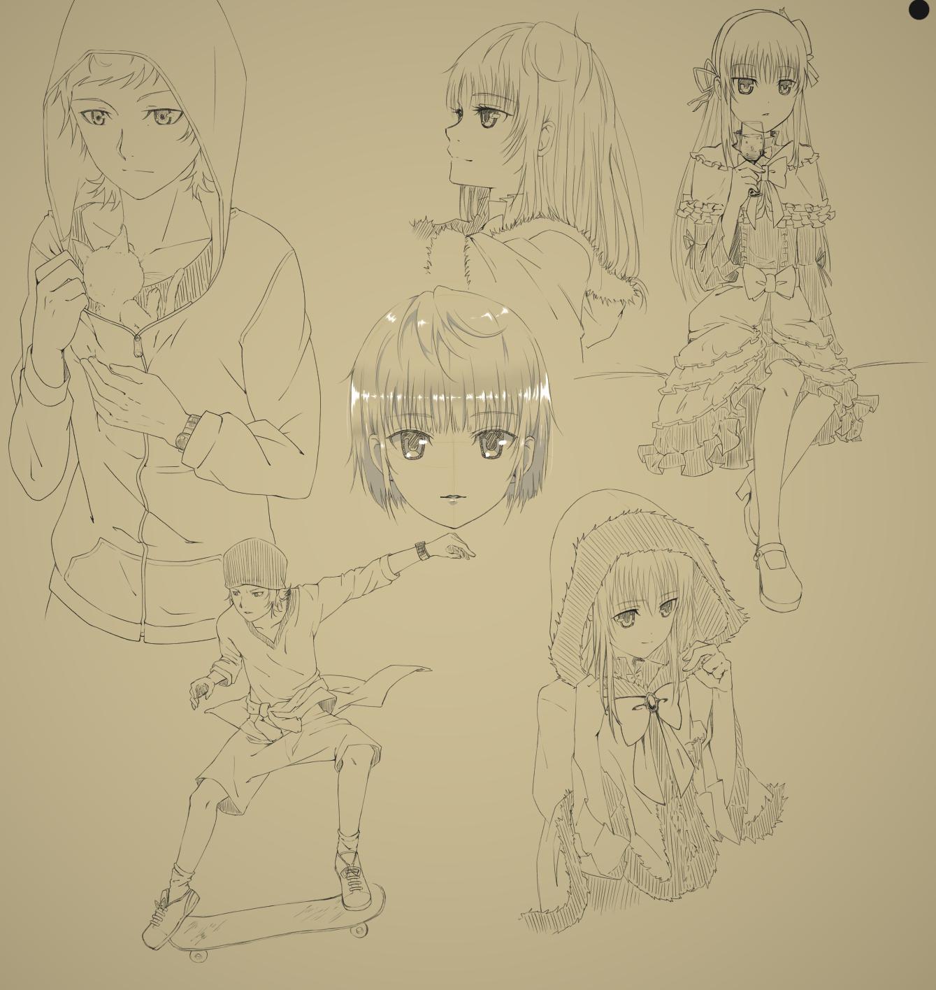 Yata Anna Sketch by Gurvana