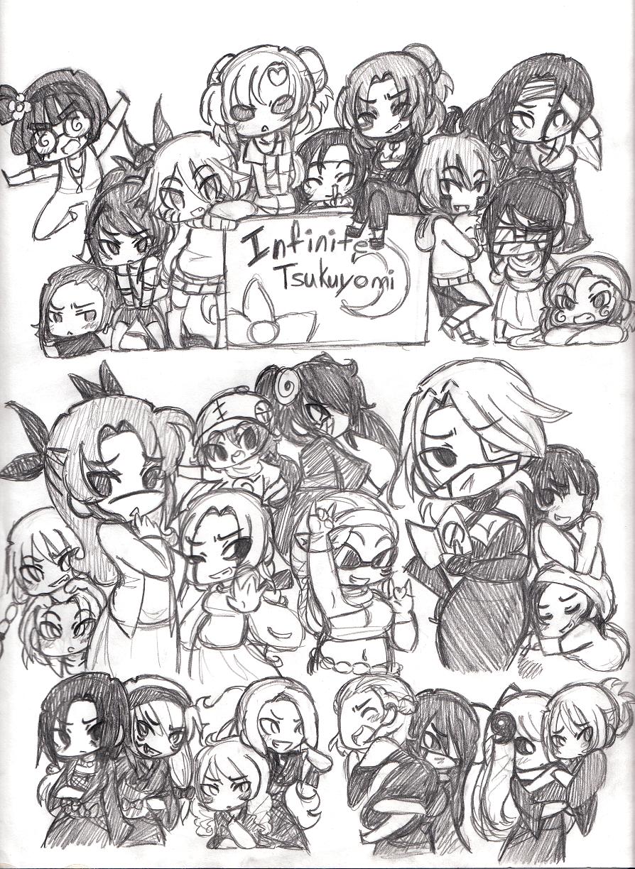 Naruto Everybody Genderbend Doodle By Merrilywerosalynn On Deviantart