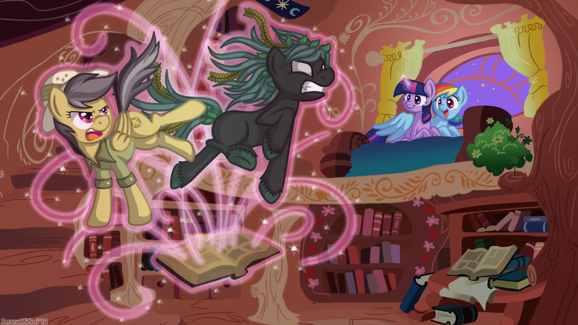 Daring Do and the Curse of the Killer Kelpie