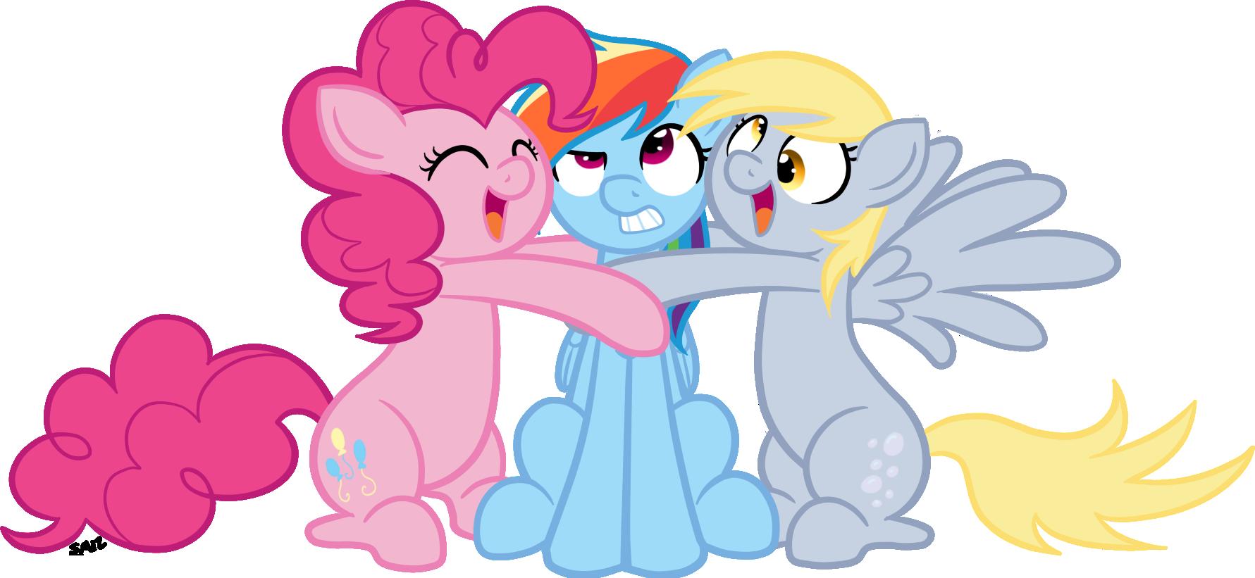 Commission: Pony BFFs by serenamidori