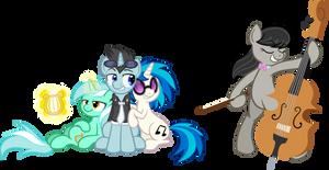 Commission: Pony Musicians
