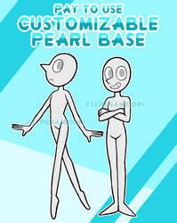 P2U Customizable Pearl Base