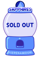 Sapphire Gacha Machine [SOLD OUT] by serenamidori