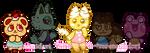 Dessert Animal Crossing Adopts [CLOSED] by serenamidori