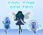 Cool Tone Gem Adopts [OPEN 2/3] by serenamidori
