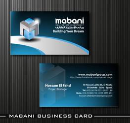 Mabani Business Card 02 by HaythamFayed