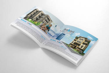 Mabani Brochure (Cover + 2 Inner Pages). by HaythamFayed