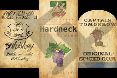 Bottle Labels by wasteofammo