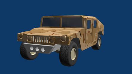 Humvee Wip by wasteofammo