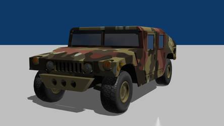 Humvee Wip2 by wasteofammo