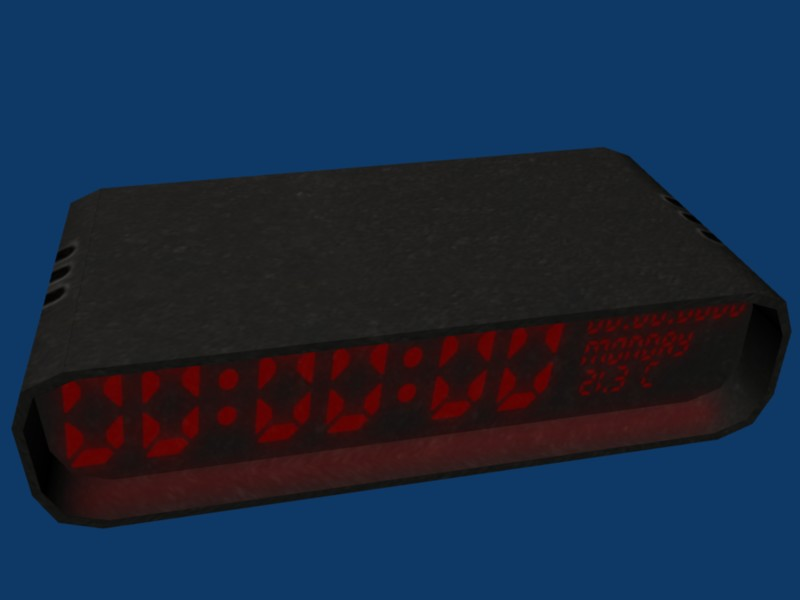 Clock by wasteofammo