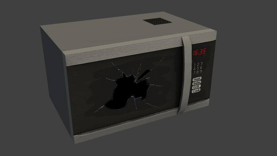 Microwave by wasteofammo