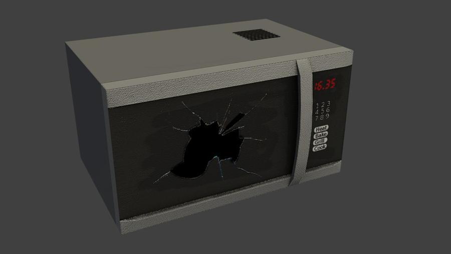 Microwave by wasteofammo