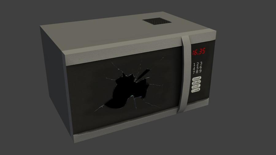 Microwave2 by wasteofammo