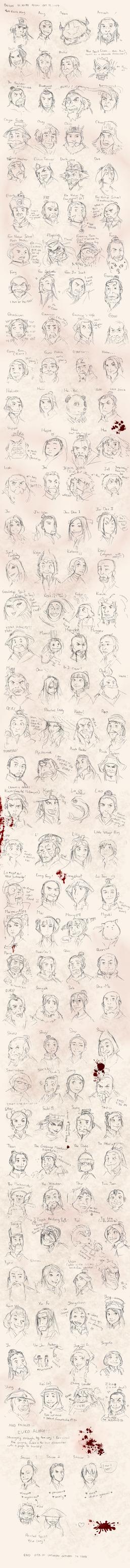 Avatar Character Challenge by Kursunada