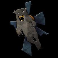 Clan Smoke Jaguar Logo by Punakettu